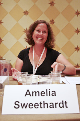 Amelia on the Texas Terroir panel