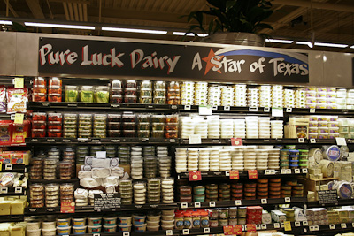 Pure Luck Display At Whole Foods